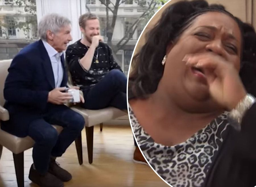 Alison Hammond Has Ryan Gosling And Harrison Ford In Hysterics During Anarchic 'This Morning' Interview