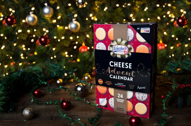 Cheese advent calendar goes mainstream after blogger 39 s for Where to buy cheese advent calendar