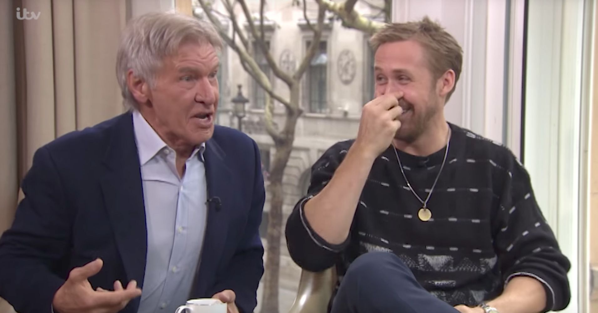 Harrison Ford And Ryan Gosling 'Blade Runner' Interview Goes Off The Rails
