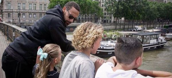 Rio Ferdinand Teaches His Children It Doesn't Make Them 'Less Of A Boy Or Girl' To Cry
