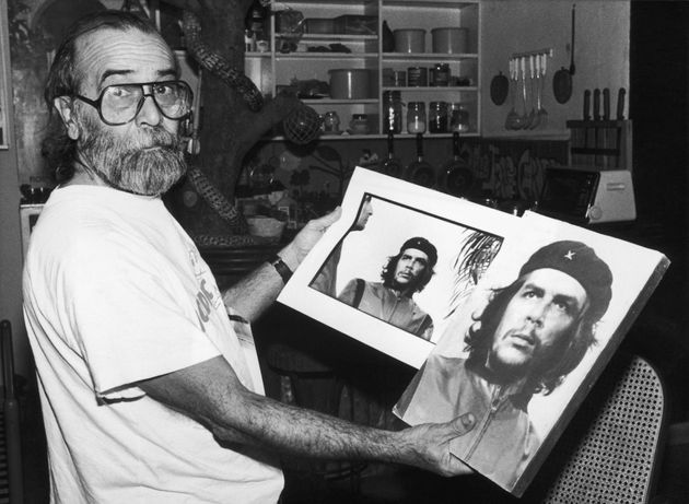 The iconic picture of Ernesto 'Che' Guevara, taken by Alberto Korda (pictured), who...
