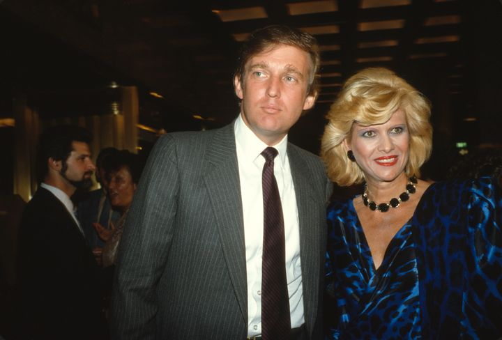 Donald Trump and Ivana Trump in September 1984.