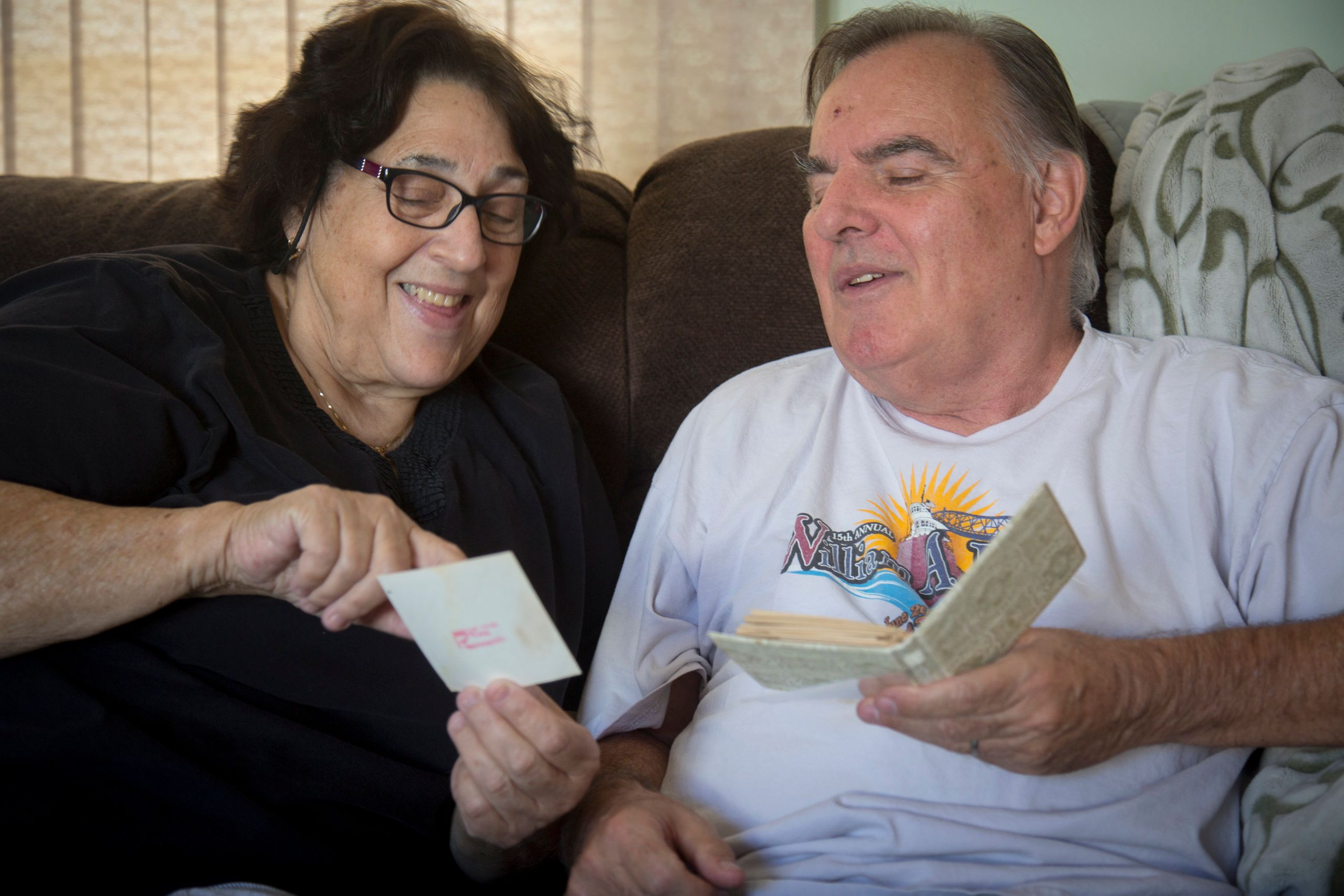 Anne and Alan Scherer stillattend movies and baseball games, as well as eventscreated for people with dementia an