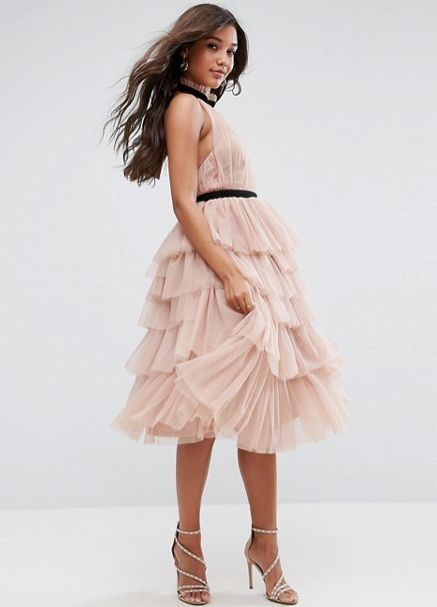 "The tulle in this dress is giving us all the fall princess vibes. Get it at <a href=""http://us.asos.com/asos/asos-premiu"