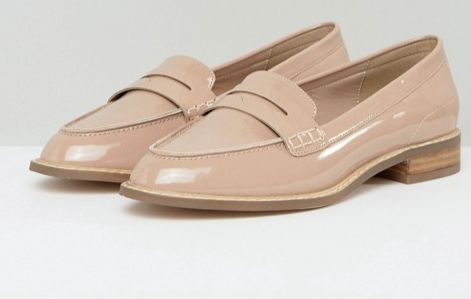 "<a href=""http://us.asos.com/asos/asos-munch-wide-fit-loafer-flat-shoes/prd/8520851?clr=nudepatent&SearchQuery=loafers+wom"