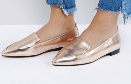 "<a href=""http://us.asos.com/asos/asos-lees-wide-fit-pointed-loafers/prd/8329679?clr=nudemetallic&SearchQuery=loafers+wome"