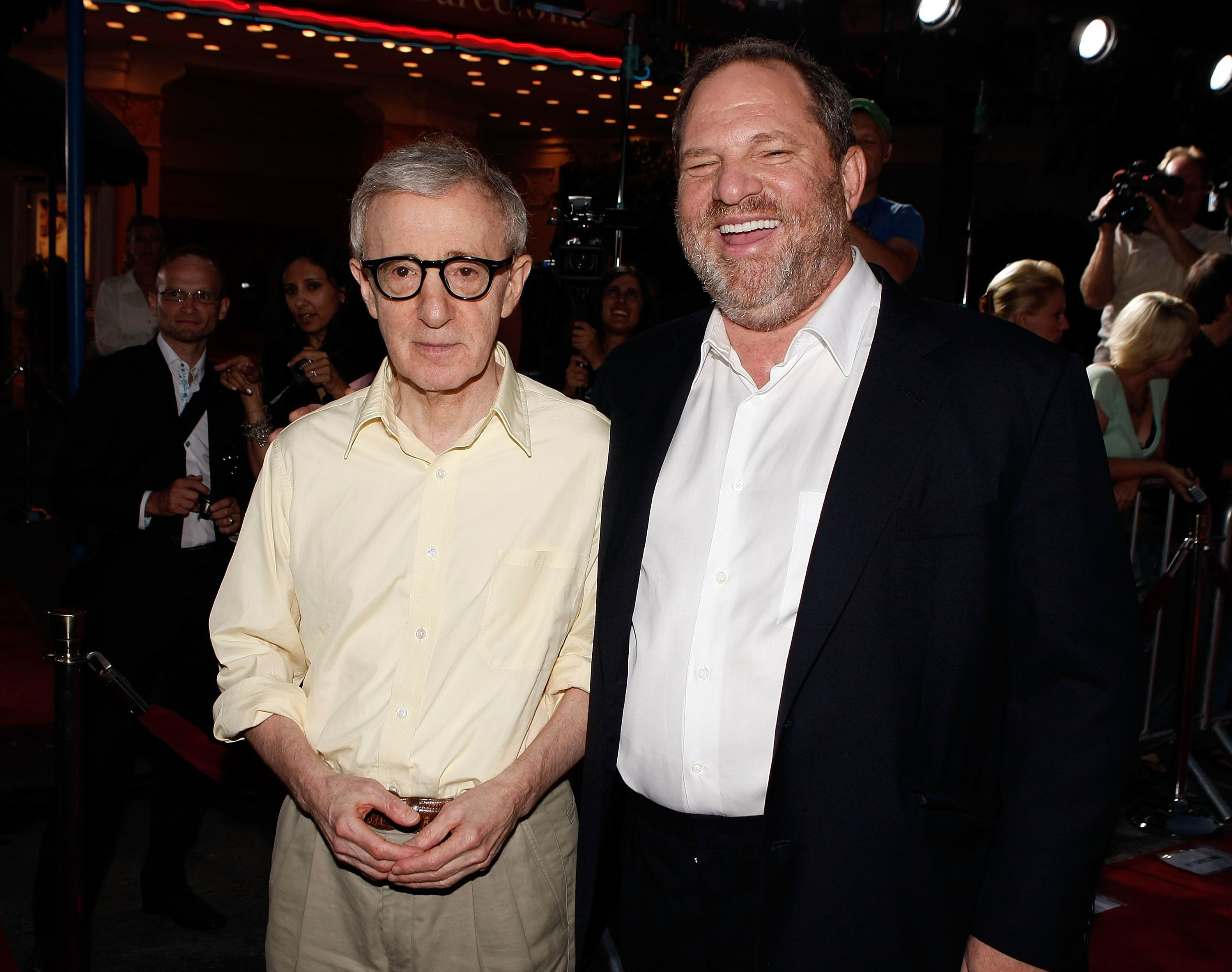 Harvey Weinstein Helped Woody Allen Save His Career After Abuse Allegations