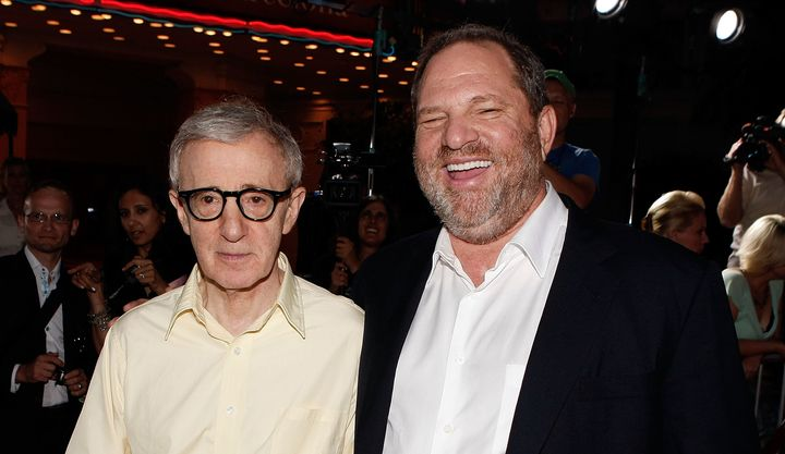 Image result for weinstein and woody allen