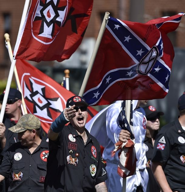 One of the gatherings of neo-Nazis and white nationalists in the United States.