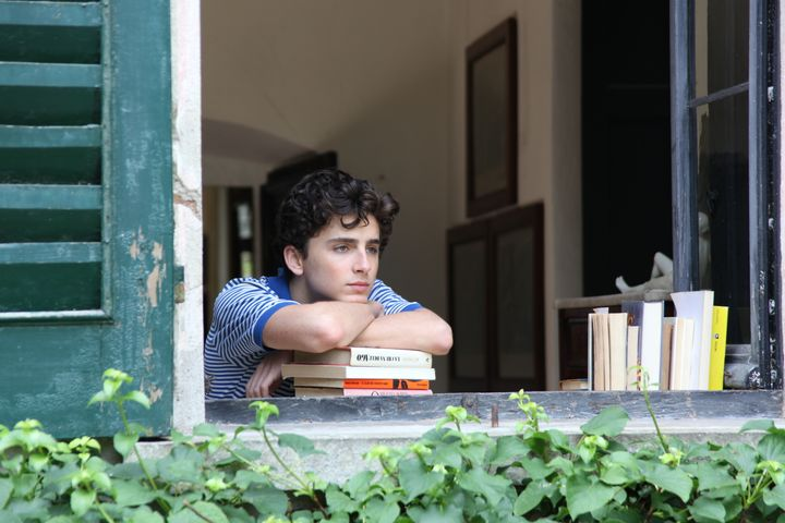 """Timothee Chalamet in """"Call Me By Your Name"""""""