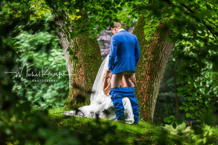 Dutch Couple Poses For Possibly The Raciest Wedding Photos Ever (NSFW)