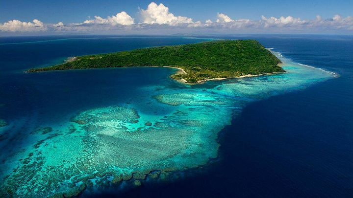 <p>One of the many islands of Fiji. The meeting was hosted on the main island.</p>