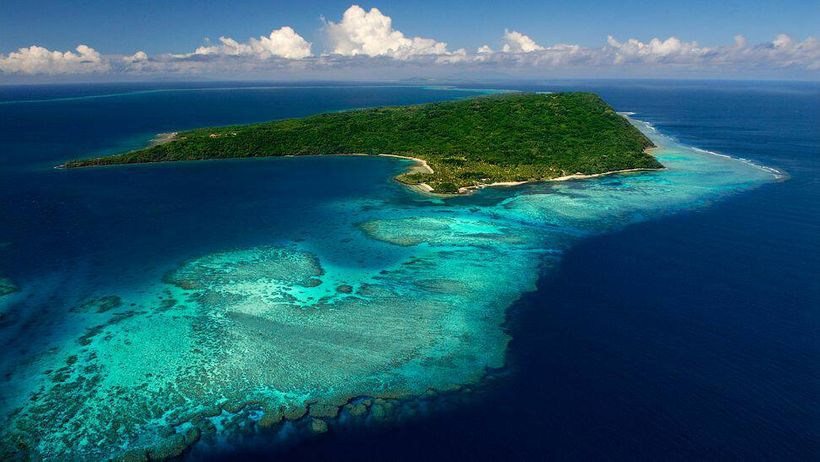 One of the many islands of Fiji. The meeting was hosted on the main island.