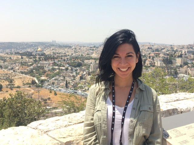 Daniela Kreimer in Jerusalem. July 2017
