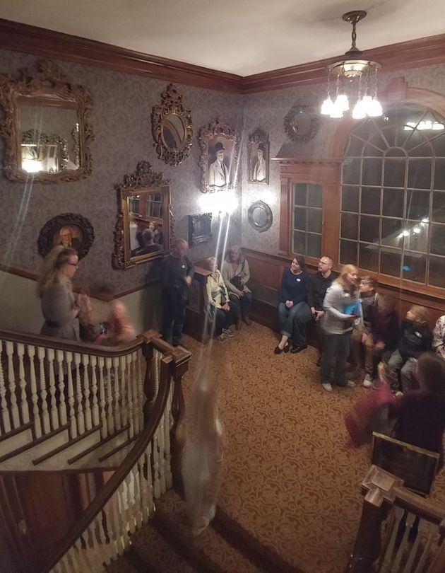 'Ghosts' Caught On Camera At Famed Stanley Hotel In