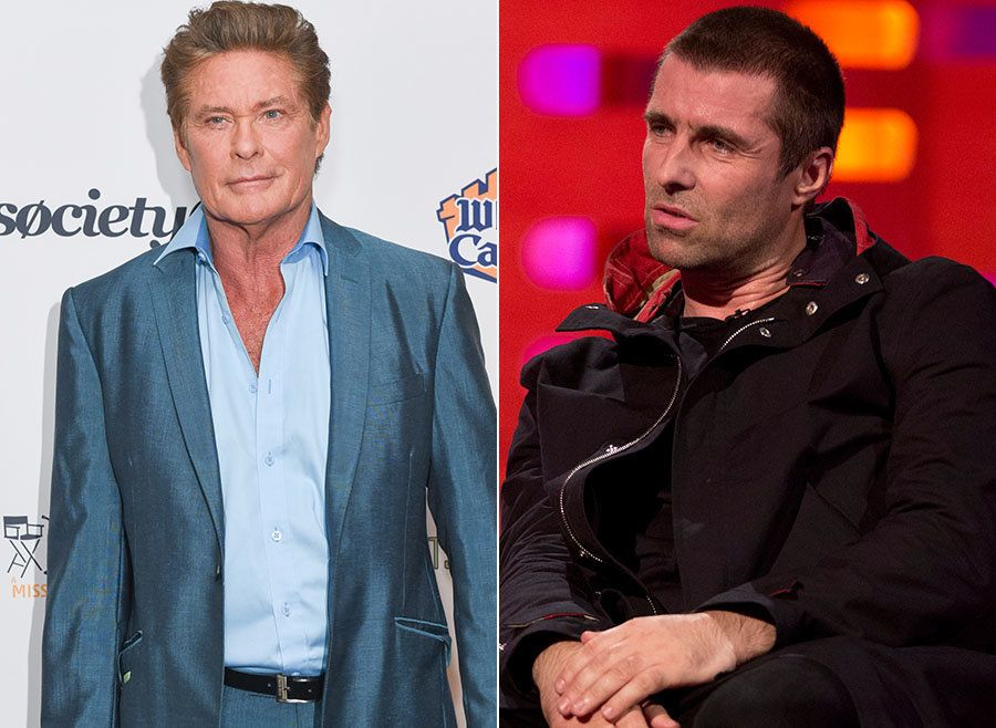 Liam Gallagher Is Having Twitter Beef With David Hasselhoff (Yeah,