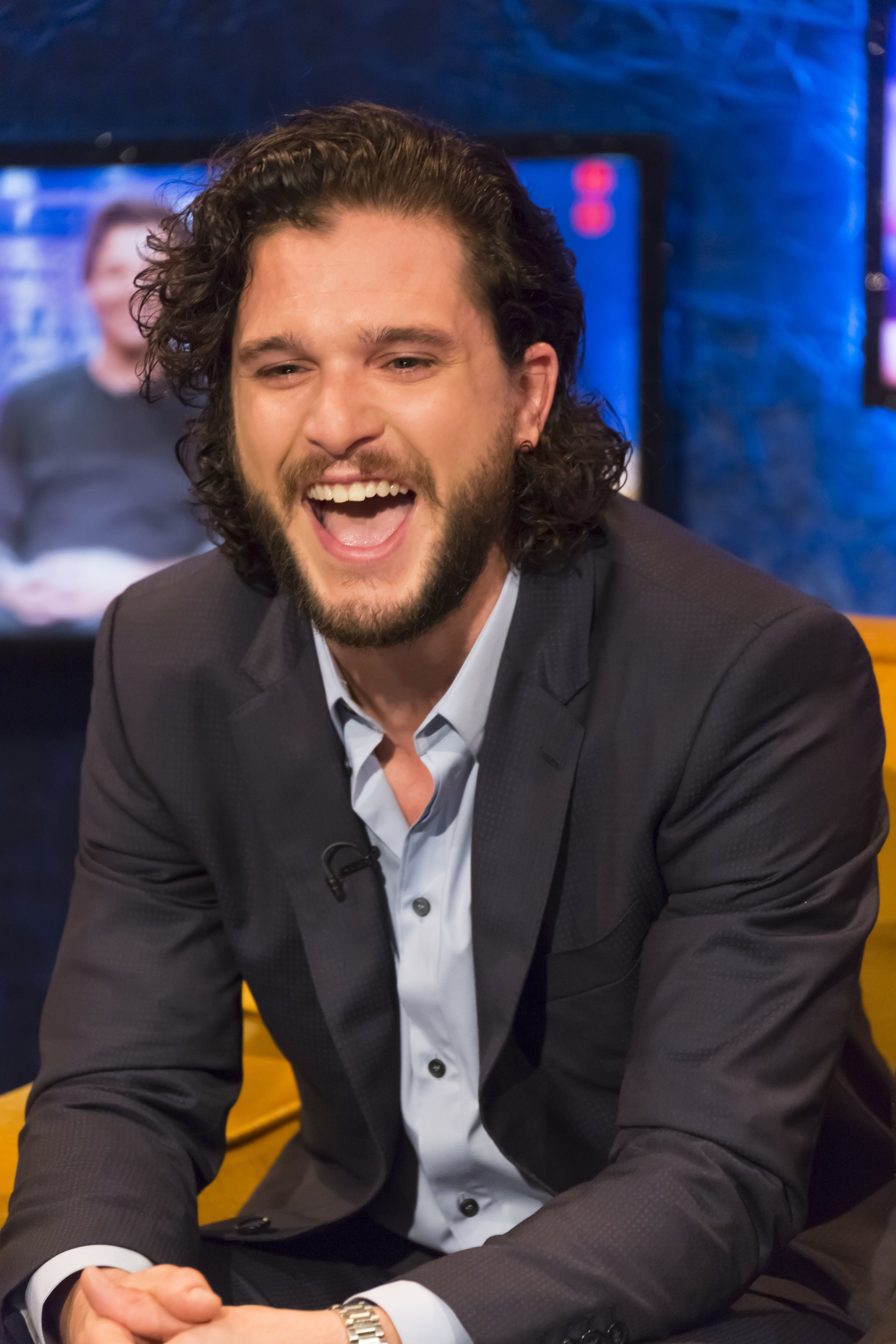 Kit Harington Claims He 'Blew His Load Early' During Proposal To Rose Leslie (No, Not Like