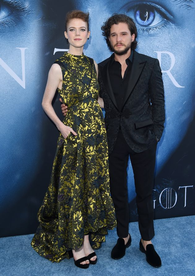 Kit and Rose announced their engagement last
