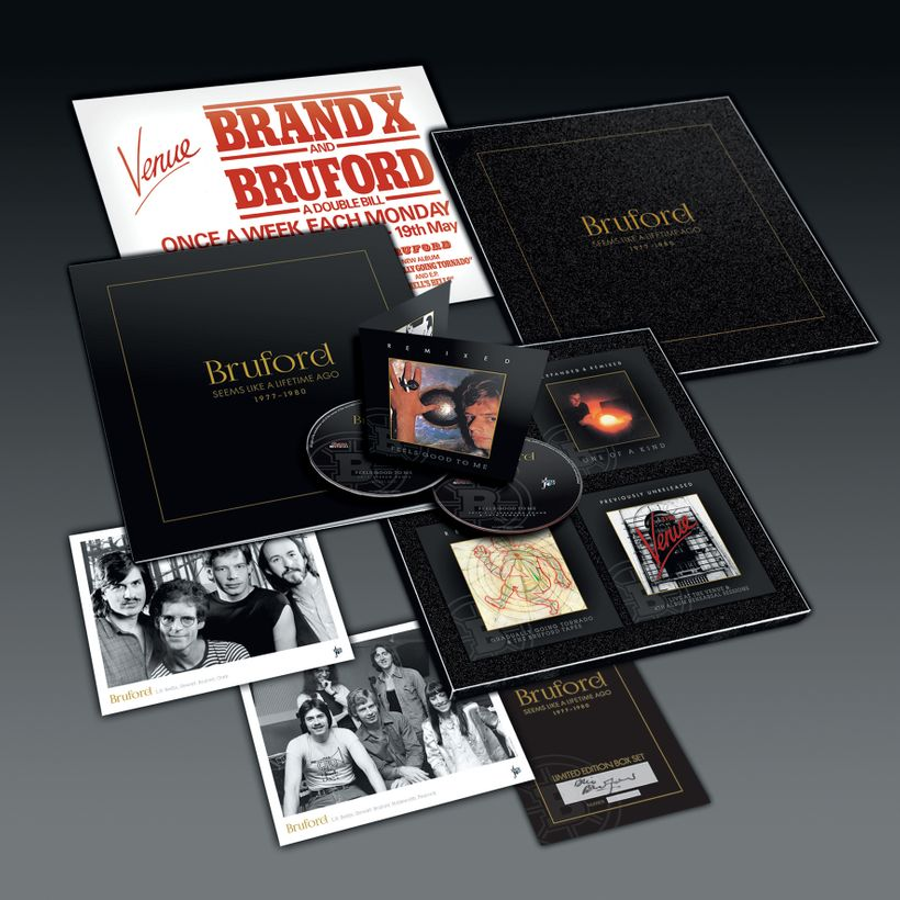 Bill Bruford &#x2F; <em>Bruford 1977-1980: Seems Like a Lifetime Ago</em>