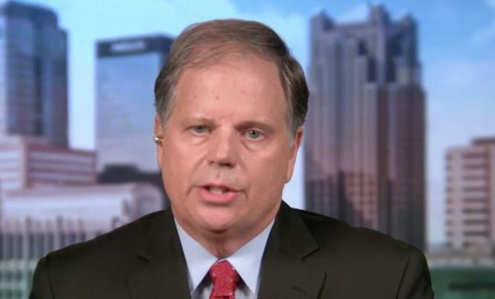 Democratic Alabama U.S. Senate candidate Doug Jones