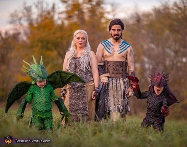 13 geniales ideas de disfraces de 'Juego de Tronos' para familias y