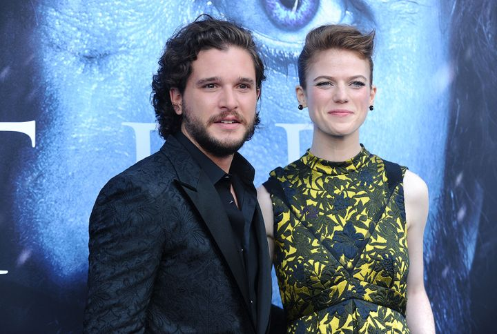 "The couple at the ""GoT"" season seven premiere."