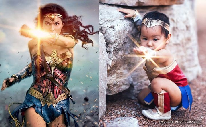 """""""I want my daughter to know that she is special and has a great purpose,""""said the photographer."""