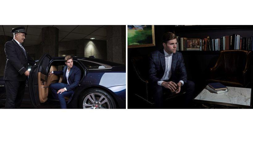 Daniel Vanderslice is wearing Stephen F in both photos