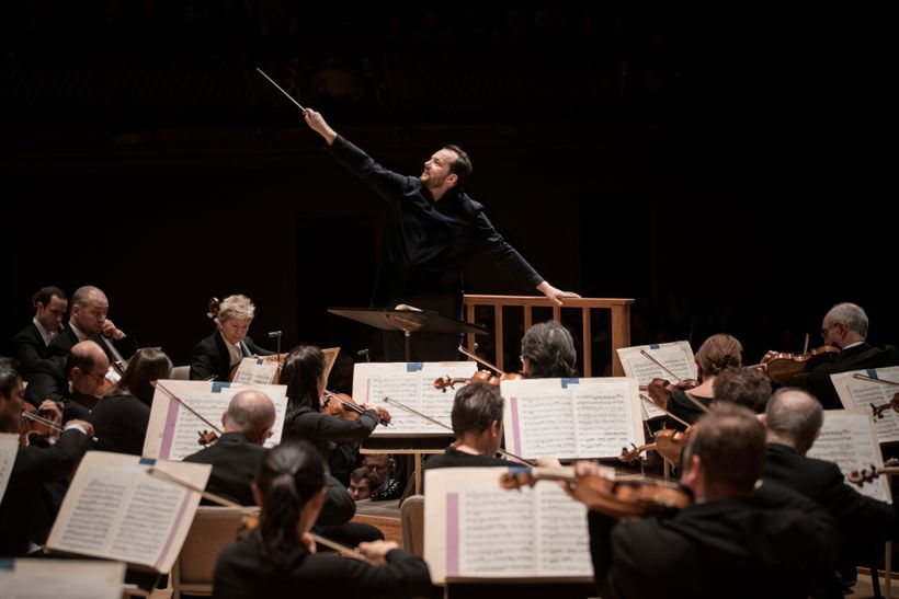 The Boston Symphony Orchestra and Andris Nelsons.
