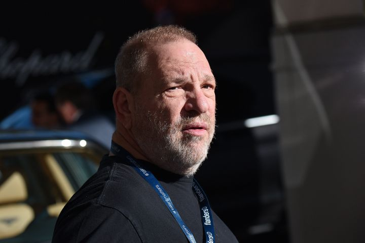 Harvey Weinstein is spotted at Hotel Martinez during the 70th annual Cannes Film Festival at on May 19, 2017 in Cannes, Franc
