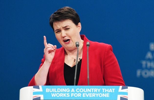 Ruth Davidson said Tory rebels should 'put up or shut