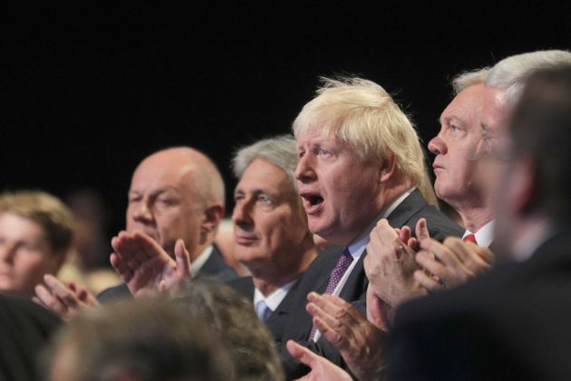 Boris Johnson has intervened to set out his own vision for Brexit, prompting speculation he is