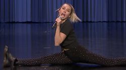 Miley Cyrus' Lip Sync Battle With Jimmy Fallon Is Exhausting Just To