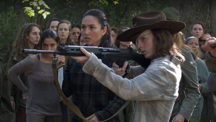 'Walking Dead' Producer Responds To Possible Eye-Opening