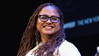 NEW YORK, NY - OCTOBER 07:  Ava DuVernay speaks onstage during the 2017 New Yorker Festival at SIR Stage37 on October 7, 2017 in New York City.  (Photo by Andrew Toth/Getty Images for The New Yorker)