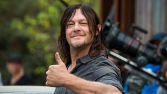 BTS, Norman Reedus as Daryl Dixon- The Walking Dead _ Season 7, Episode 16 - Photo Credit: Gene Page/AMC