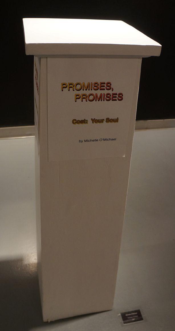 <p><em>Promises, Promises</em> [2017] by Michelle O'Michael</p>