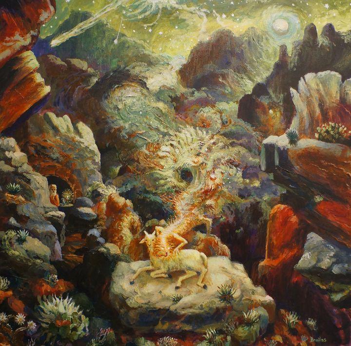 <p><em>Chupacabra on the Texas Border</em> [2011] by Jeffrey Brailas</p>