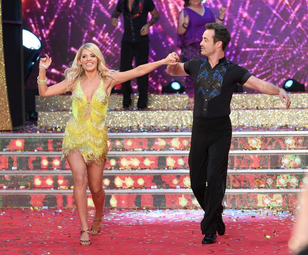 Mollie and Joe at this year's 'Strictly'