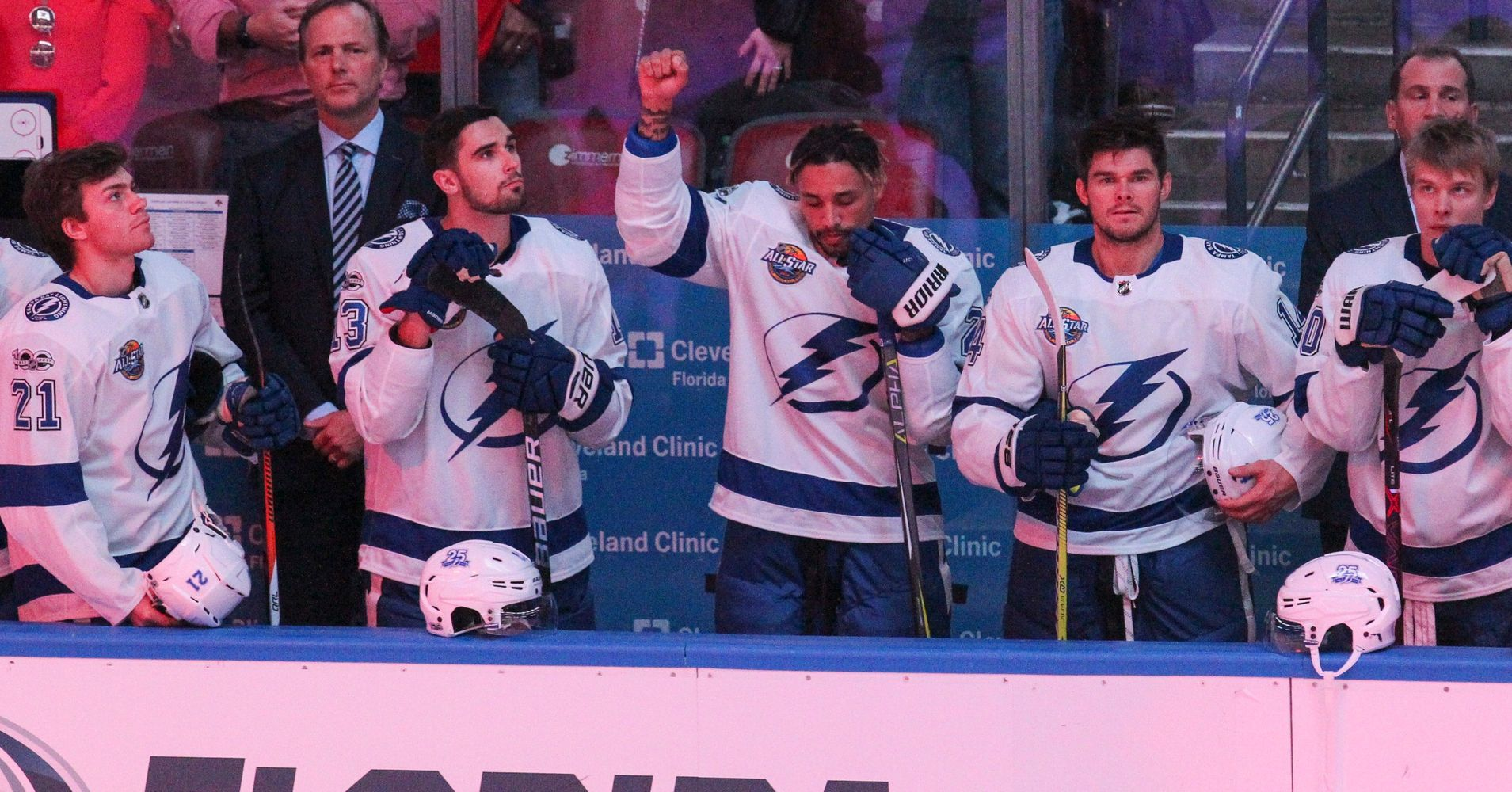 J.T. Brown Becomes First NHL Player To Protest During National Anthem This Season