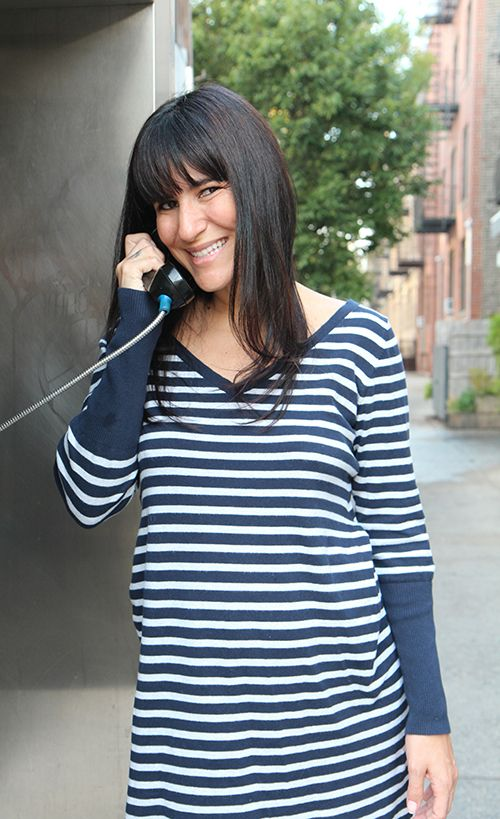 <strong>For The Nylon Project, she did a lot of cold calling to celebrities.</strong>