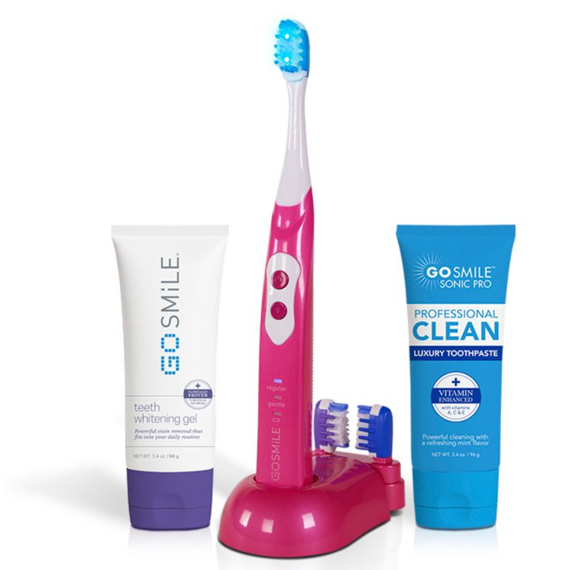 "<strong>Sonic Blue Susan G. Komen Whitening Kit Pink Limited Edition</strong> from <a rel=""nofollow"" href=""https://gosmile.co"