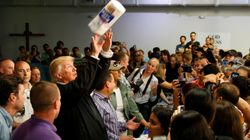 Donald Trump Talks About Throwing 'Very Good Towels' To Puerto