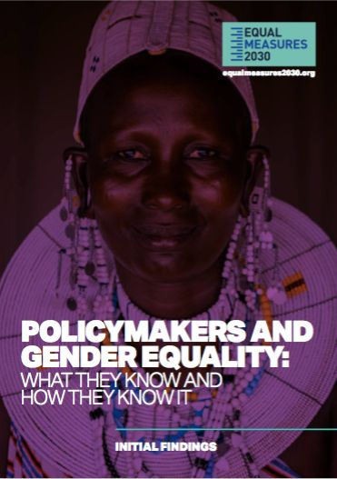 <strong>How do policymakers use data and evidence in their decision making on gender equality?  Find out in our </strong><a r