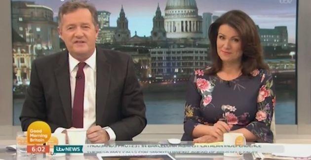 Piers Morgan hit out at Shirley Ballas on 'Good Morning