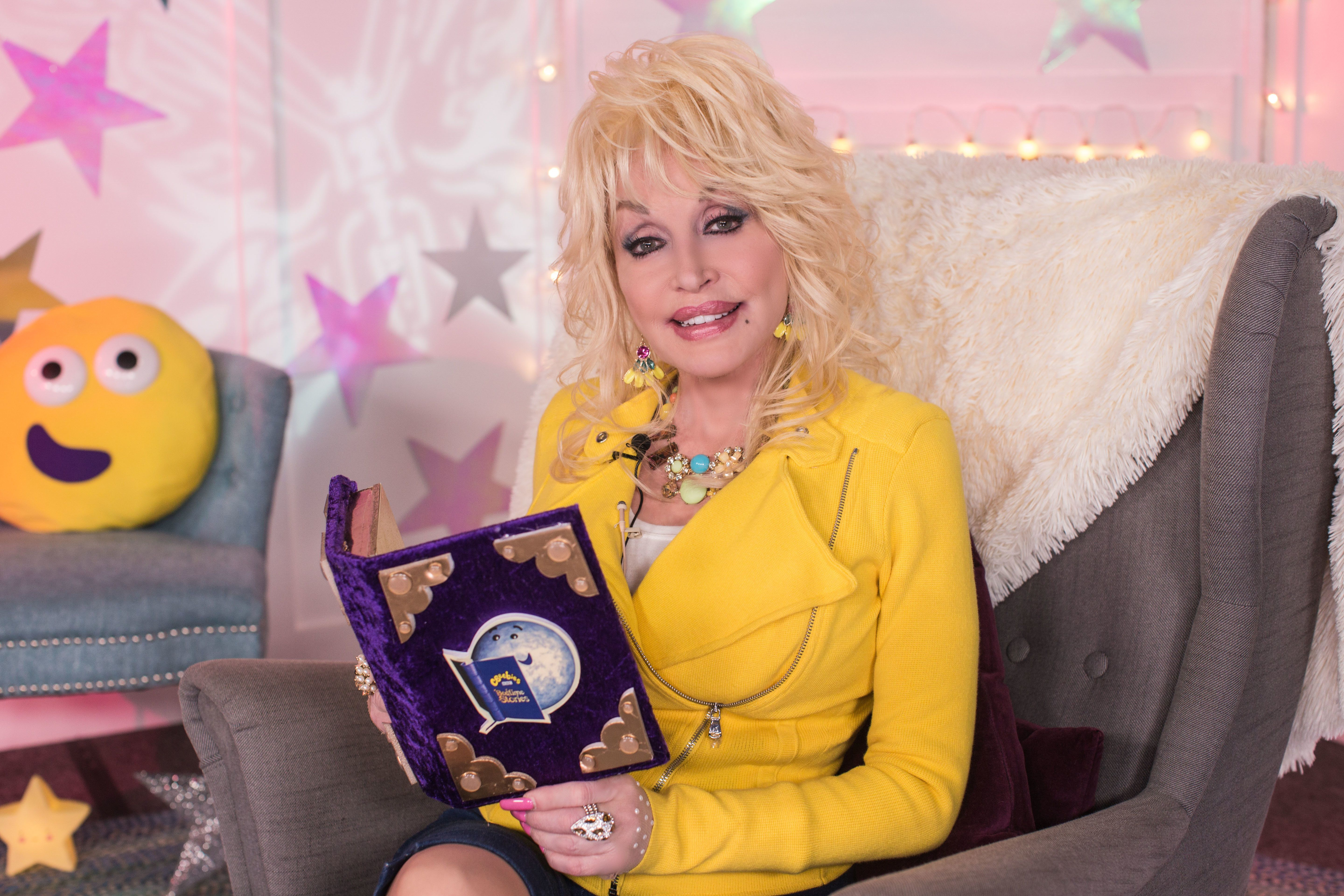 Get Excited Because Here's A First Glimpse At Dolly Parton's CBeebies Bedtime