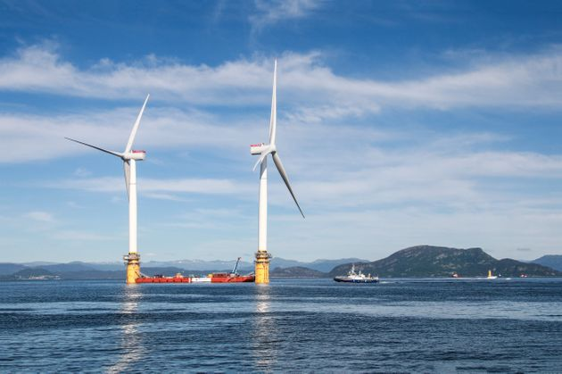 Open-ocean wind farms