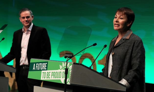 Green Party co-leaders Jonathan Bartley and Caroline