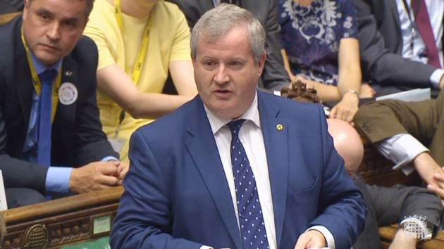 SNP Westminster leader Ian Blackford has called for Theresa May to