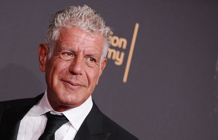 Anthony Bourdain attends the 2017 Creative Arts Emmy Awards on Sept. 9, in Los Angeles, CA.